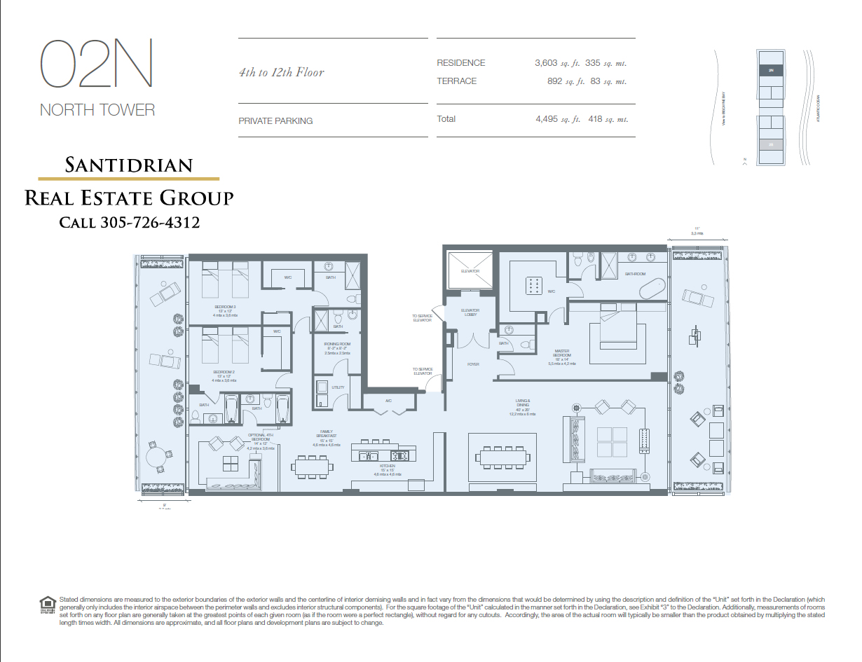 Oceana key biscayne floor plans oceana floor plans for Floor plans 900 biscayne